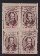 Laennec - Comite De Defense Contre La Tuberculose - 1926 - ** Neufs Sans Charniere - Antituberculeux