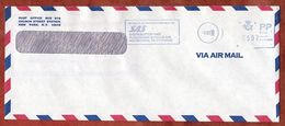 Luftpost, SAS Distribution Kastrup, PP, 1988 (88609) - Affrancature Meccaniche Rosse (EMA)