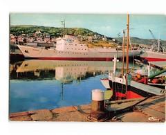 76 Fecamp Port Des Terre Neuvas Bateau Peche Pecheur Terre Neuve Vikings CPM Cachet 1978 - Fécamp