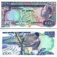BILLET SAO TOME ET PRINCIPE 1000 DOBRAS - Sao Tomé Et Principe