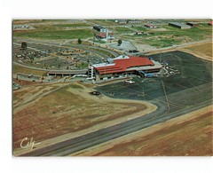 Aviation Toulouse Blagnac Aeroport Aerodrome Avion Pistes Flamme Blagnac Aeroport Midi Pyrénées 1981 CPM - Aérodromes