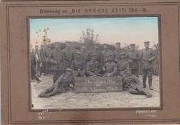 Photo Sur Carton Jablonna WW1 WK1 Erinnerung An Die Grosse Zeit - Krieg, Militär