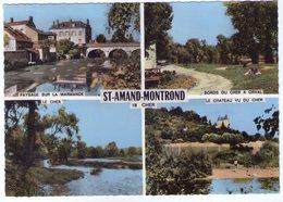 18 - SAINT AMAND MONTROND - Multivues - Bords Du Cher à Orval - Cher - Saint-Amand-Montrond