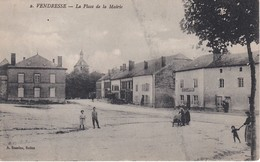 VENDRESSE La Place De La Mairie - Francia