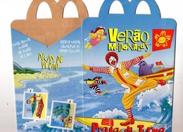 Mcdonald's -  BRASIL  - Petit Emballage En Carton Verao McDonald's - Praia Da Turma - McDonald's