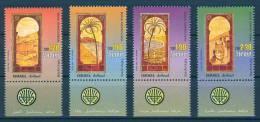 Israel - 2001, Michel/Philex No. : 1629-1632 - MNH - *** - - Nuevos (con Tab)