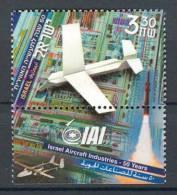 Israel - 2003, Michel/Philex No. : 1725 - MNH - *** - - Nuevos (con Tab)