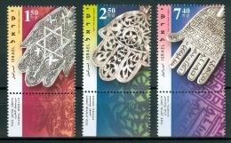 Israel - 2006, Michel/Philex No. : 1885-1887 - MNH - *** - - Nuevos (con Tab)