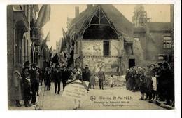 52740 - WERVIK - WERVICQ 21 MAI 1923 - HOMMAGE AU MEMORIAL 1914-18 - GROUPE DU CORTEGE - Wervik