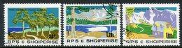 ALBANIA 1980 National Parks Used.  Michel 2067-70 - Albanie