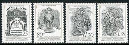 ALBANIA 1980 Middle Ages Art MNH / **.  Michel 2063-66 - Albania