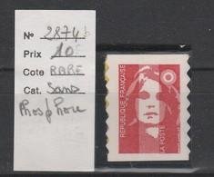 LOT 539 FRANCE N°2874 D ** Sans Phosphore - France