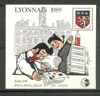 Bloc N° 10 - Lyonnais 1989 - Guignol - CNEP