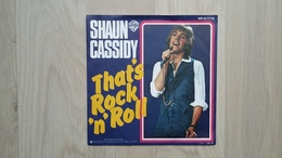 Shaun Cassidy - That's Rock 'n' Roll - Selteneres Cover (rückseitige Werbung) - Disco, Pop