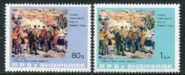 ALBANIA 1980 Earthquake Relief MNH / **.  Michel 2047-48 - Albania