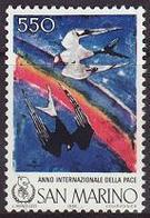 San Marino 1986 Correo 1138 Año Internacional De La Paz  **/MNH - Nuovi