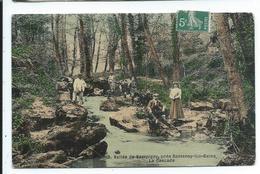 Vallée De Sampigny Pres Santenay Les Bains , Cascade - France