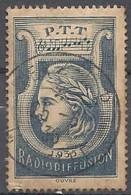 FRANCE FISCAUX Timbre Fiscal Radiodiffusion 1935 Bleu - Revenue Stamps