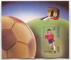 SOCCER FOOTBALL SPORT CHILE Good MINT MNH STAMP SHEET # 45397  051219 - Chile