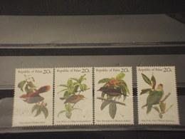PALAU - 1983 UCCELLI 4 VALORI - NUOVI(++) - Palau
