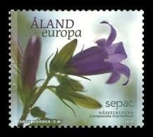 Aland 2014 Mih. 392 SEPAC. Flora. Flowers. Nettle-Leaved Bellflower MNH ** - Aland