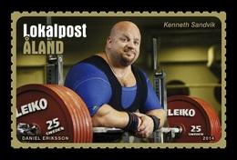 Aland 2014 Mih. 393 Powerlifter Kenneth Sandvik MNH ** - Aland