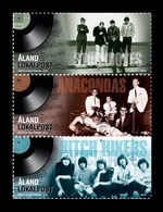 Aland 2014 Mih. 396/98 Popular Music Bands Of 1960's MNH ** - Aland