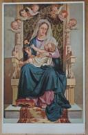 Sancta Dei Genitrix Reffo Turin Madonna Maria Mit Jesus Christus Thron Rose Putten Putto Kopf - Jungfräuliche Marie Und Madona