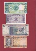 Soudan Du Sud 8 Billets  (n °1 Et 2  En UNC) Et 6 Dans L 'état Lot N °3 - Sudán Del Sur