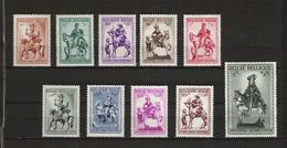 [1753] Zegels 583 - 592 ** Postfris - Nuovi