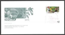 Mexico - Birds, Conservation, FDC, 2002 - Parrots