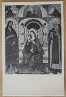 Basilica Di. S. Domenico Maggiore Napoli Neapel La Vergine Coi Santi Battista E Antonio Abate Trittico Di Agnolo Franco - Peintures & Tableaux