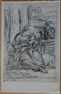Anton Raphael Mengs Die Ruhe Auf Der Flucht Nach Ägypten Albertina Wien  Weihnacht In Zeichnung Und Druchgraphik 1986 - Gemälde, Glasmalereien & Statuen