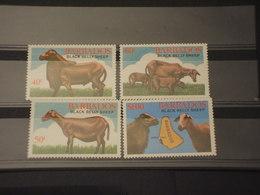 BARBADOS - 1982 ANIMALI 4 VALORI - NUOVI(++) - Barbados (1966-...)