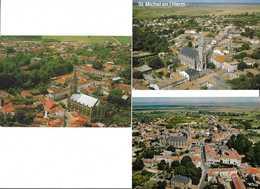 3 CP ST-MICHEL-EN-L'HERM (-saint) - Saint Michel En L'Herm