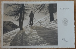 Im Frühlicht Winter Skifahren Schifahren Aufnahme Und Verlag Wilh. Fettinger Bad Goisern - Wintersport