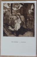 Ecole Schongauer La Nativité Musée De Colmar - Gemälde, Glasmalereien & Statuen