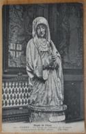 Musée De Cluny Pierre La Vierge Au Calvaire Art Francais Frankreich Madonna - Gemälde, Glasmalereien & Statuen