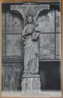 Epinal Eglise St. Maurice Vierge Sous Le Vieux Portail - Gemälde, Glasmalereien & Statuen