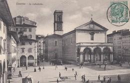 LIVORNO-LA CATTEDRALE- CARTOLINA VIAGGIATA IL 17-3-1909 - Livorno