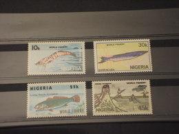 NIGERIA - 1983 PESCI 4 VALORI - NUOVI(++) - Nigeria (1961-...)