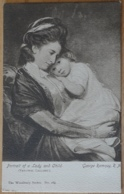 Portrait Of A Lady And Child George Romney R. A. National Gallery London The Woodbury Series 169 - Peintures & Tableaux