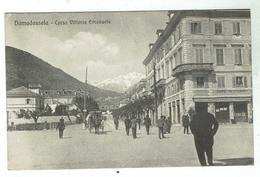 DOMODOSSOLA Corso Vitt. Emanuele- Circulée  1912- Bon état- Corresp. Sur Berisal Et Moteur Doriot - Italia
