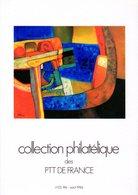 """"""" COLLECTION  DE  FRANCE : ANNEE 1986  2/4 """". Avec Les Fiches Et Les Timbres Neufs ** MNH. Parfait état. - Francia"""
