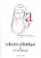 """SANS LES TIMBRES """" COLLECTION  DE  FRANCE : ANNEE 1986  1/4 """". Avec Les Fiches. Parfait état. - Francia"""