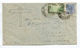 BRASIL To UK Airmail Cover 1936 Good WATERFALL STAMP WATER FALL BRAZIL 090919 - Brazil