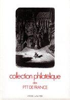 """"""" COLLECTION  DE  FRANCE : ANNEE 1983  3/5 """". Avec Les Fiches Et Les Timbres Neufs ** MNH. Parfait état. - Francia"""