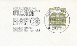 Wilhelm Conrad Röntgen-Strahlen Diagnostik - 563 Remscheid Museum Schaustellung Entwicklung Röntgen-WIssenschaft - Medizin