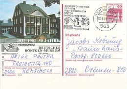 Wilhelm Conrad Röntgen-Strahlen Diagnostik - 563 Remscheid Ganzsache Röntgen-Museum VHS - Medizin