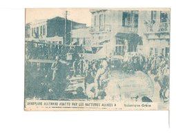 GRECE - Salonique - Aéroplane Allemand Abattu Par Les Batteries Alliées  (Armée D'Orient) - Poststempel (Briefe)